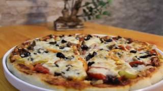 كيف تعمل بيتزا مثل المطاعم ؟مطبخي first