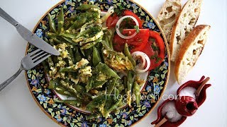 Green Beans and Eggs Recipe - Heghineh Cooking Show