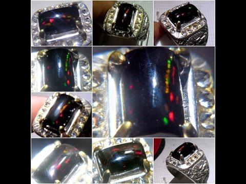 Black Opal Solid Super Jarong Kalimaya Banten