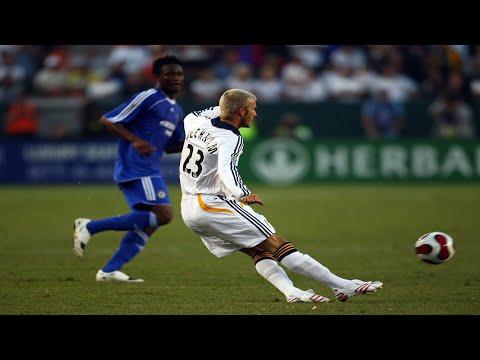 David Beckham The Best Midfielder HD