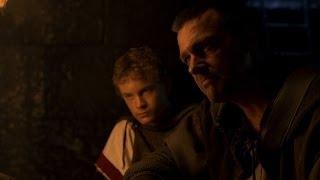 Rome Octavian and Pullo interrogate Evander HD