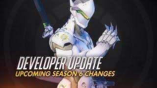 Developer Update | Upcoming Season 6 Changes | Overwatch