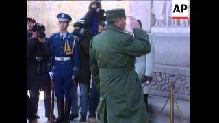 China: Fidel Castro Visit, Castro Pays Tribute To Achievements