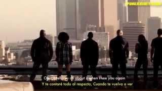 Wiz Khalifa - See You Again feat. Charlie Puth (Lyrics - Sub. En Español)