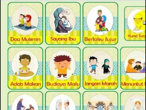 Aplikasi Hadits Pendek untuk anak