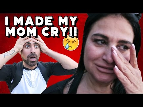 I MADE MY MOM CRY!! (PRANK GONE WRONG)