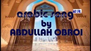 সুন্দর একটি আরবী  গজল : আবদুল্লাহ অবরই