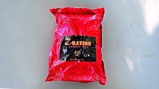 Z Ration Zombie MRE (Meal Ready to Eat) Taste Test