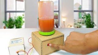 How to Make a Mini Blender Machine at home Using Cardboard