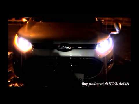Ford Ecosport Audi Style with Neon Daytime Running Lights & Projectors with Xenon HID 8000k