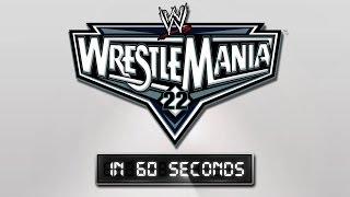 WrestleMania in 60 Seconds: WrestleMania 22