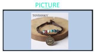 Ceramic Beaded Charm Bracelet Wax Rope Bracelet Bangle With Constellation Pendant Zodiac As