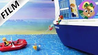وعائلة الطيور وحدها على متن السفينة. فيلم للأطفال من عطلة الفوضى الجزء 3