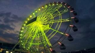 Timelapse Pembangunan Wahana Cinta Ferris Wheel