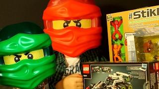 Кока Все Серии - Игрушки, Лего Ниндзяго, Стикботы, Хот Вилс, Нерф - Видео для Детей