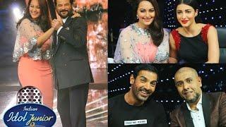Indian Idol Junior 2015 - John Abraham, Shruti Hassan & Anil Kapoor Promote Welcome Back