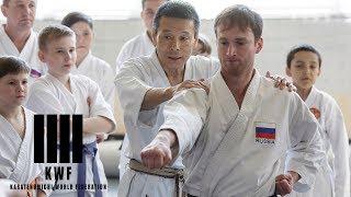 Mikio Yahara. Karate Seminar in Irkutsk 2017