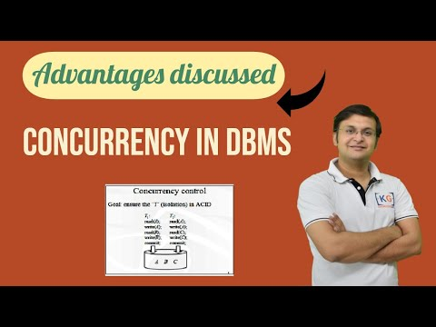 Advantage of Concurrency | DBMS | part-20