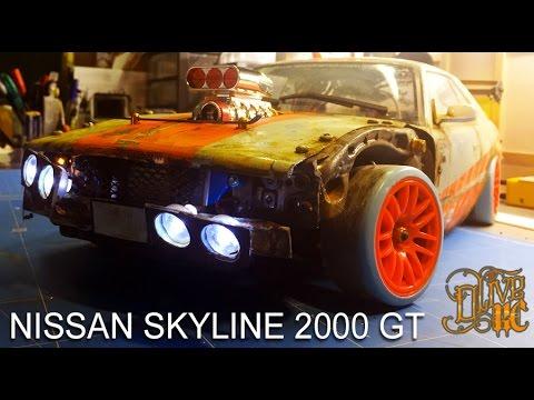 Xxx Mp4 RC DRIFT CAR NISSAN SKYLINE 2000 GT 3gp Sex