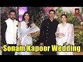 Akshay Kumar, Twinkle Khana, Shilpa Shetty, Raj Kundra At Sonam Kapoor's Wedding Reception