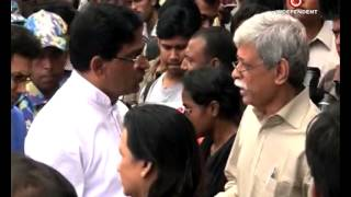 Humayun Ahmed Dead body  at airport reported & uploaded by Asma Mita