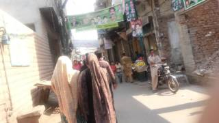 Life in Pakistan - Walking in Sare Pur   Old Town in Lahore near Multan Road, Lahore - 24 October 20