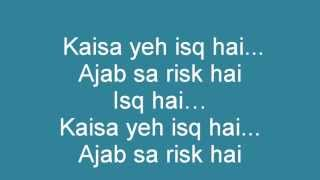Mere brother ki dulhan-Ishq Risk (lyrics & translation)