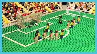 Brazil vs Croatia | World Cup 2014 | Brick-by-brick