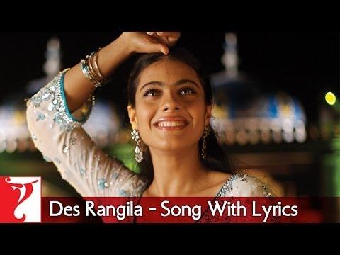 Xxx Mp4 Lyrical Des Rangila Song With Lyrics Fanaa Aamir Khan Kajol Prasoon Joshi 3gp Sex