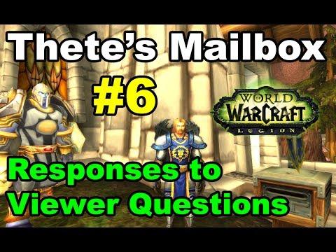 Thete's Mailbox #6 Viewer Responses