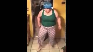 Funny girl dance