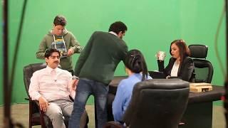 كواليس تصوير مسلسل يوميات زوجة مفروسة أقوى المشاهد الكوميدية للنجم سمير غانم - Youmyat Zoga Mafrosa