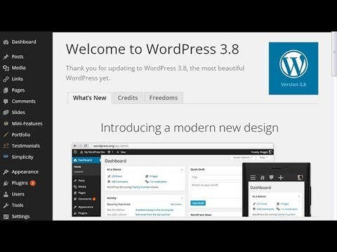 Xxx Mp4 Merubah Design Dashboard WordPress 3 8 Quot Parker Quot 3gp Sex
