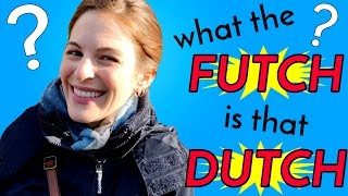 American Tries READING DUTCH SIGNS in Amsterdam!!
