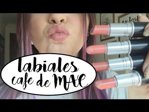 Mis Labiales Cafes (Matte) de MAC | alaladaniela