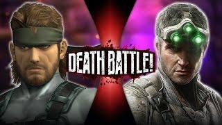 Solid Snake VS Sam Fisher (Metal Gear VS Splinter Cell) | DEATH BATTLE!