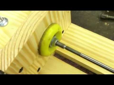Homemade Wood Lathe 3