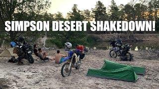 Simpson Desert Shakedown! Crossing Little Desert Part 1!