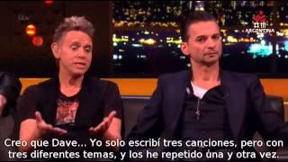 Jonathan Ross Show - entrevista a Depeche Mode subtitulada al español más interpretación de Heaven