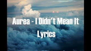 Aurea - I Didn