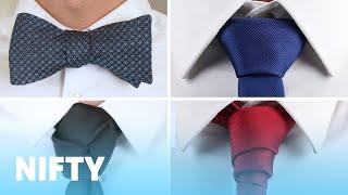 9 Creative Ways To Tie A Tie