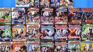 Ultraman Toys Collection Ultraman VS set ,X Armor Change! Zero,Ginga,Victory,Leo,Seven,Hikari,Taro