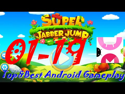 Super Jabber Jump Android Gameplay World 01-19