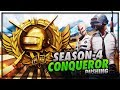 Download Video Download PUBG MOBILE LIVE | SEASON 4 CONQUEROR GAMEPLAY | PUSHING TO TOP 100 PLAYER IN ASIA😍😍 3GP MP4 FLV