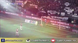 Tonny Vilhena Fantastic Goal - AZ Alkmaar vs Feyenoord | 2016 Skills