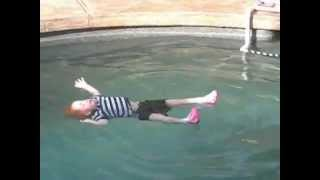 Parents Throw Helpless Baby in Pool