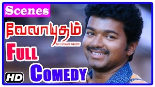 Velayudham Tamil Movie | Full Comedy | Scenes | Vijay | Santhanam | Soori