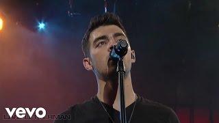 Joe Jonas - See No More (Live on Letterman)