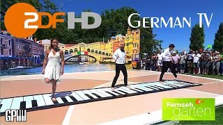 #ilGrandePiano al Fernsehgarten su ZDF TV, Live performance 8 July 2018