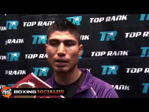 Mikey Garcia Talks Win and Rematch with Terrance Crawford